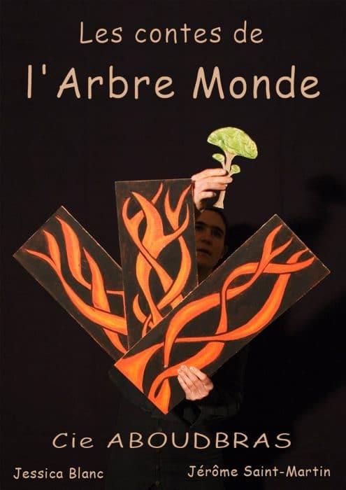 La compagnie ABOUDBRAS spectacle les contes de l'arbre monde