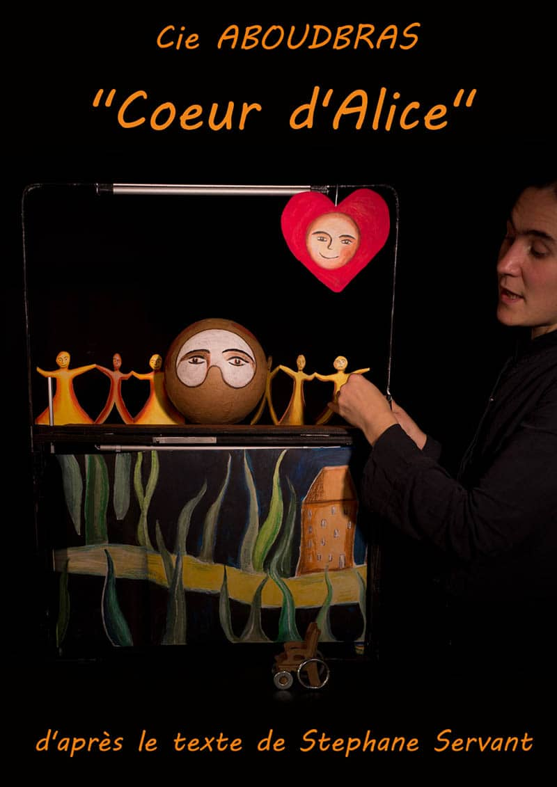 La compagnie ABOUDBRAS spectacle coeur d'alice